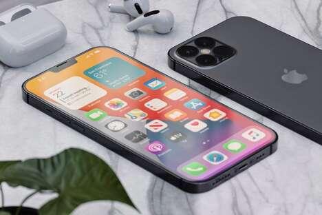 Flat-Edge Smartphone Concepts