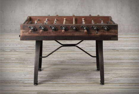 Old-Fashioned Tabletop Game Furniture