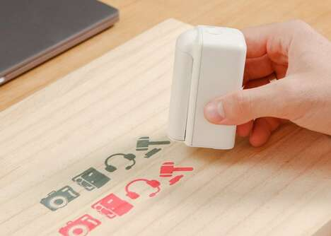 Customizable Handheld Printer Peripherals