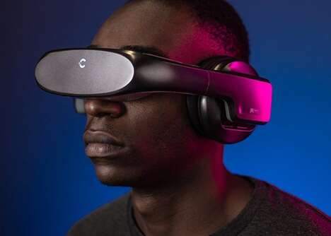 Wearable 5K Cinema Headsets