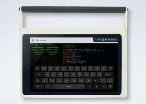 Raspberry Pi-Powered Tablets