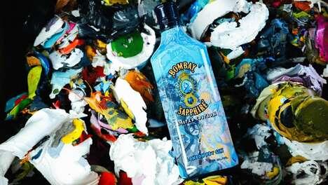 Artist-Designed Gin Bottles