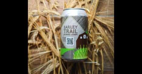 QR-Code Interactive Beer Cans