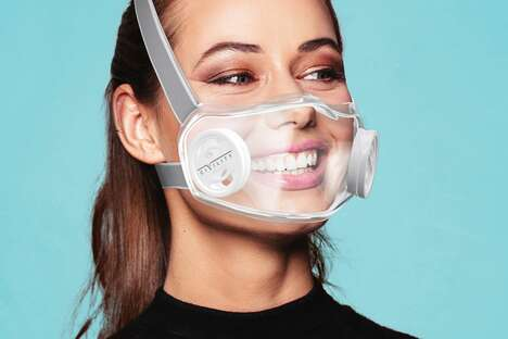 Smile-Showing Face Masks