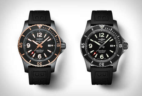 Demure Deep Sea-Ready Timepieces