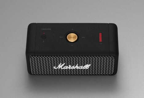 Vintage-Inspired Portable Speakers