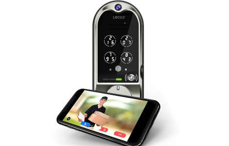 Security Camera Smart Locks