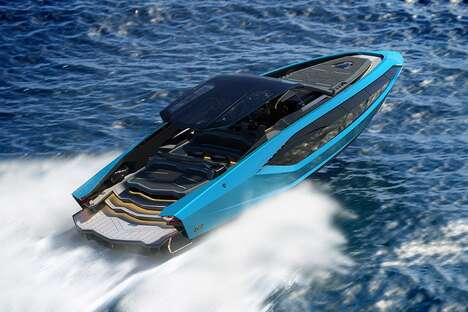 Supercar-Inspired Yachts