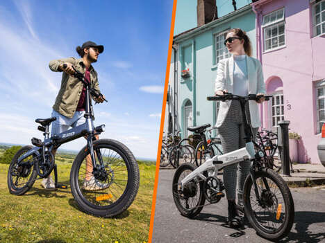 Folding Dual-Mode Electric Bikes