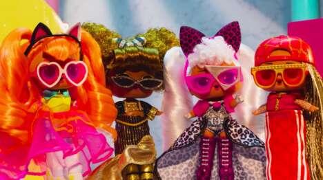 Mini Fashion Dolls