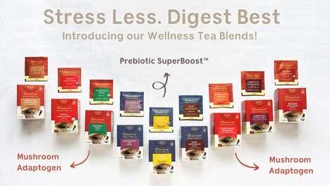 Caffeine-Free Wellness Teas