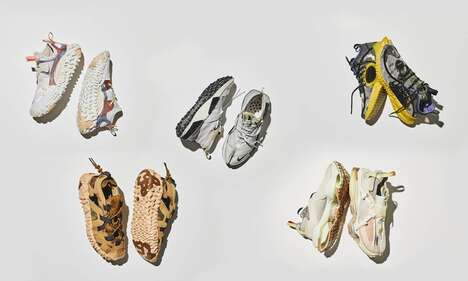 Chaotically Stylish Sneaker Collections