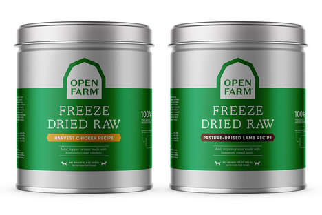 Zero-Waste Dog Food Tins