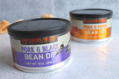 Pork Rind Bean Dips