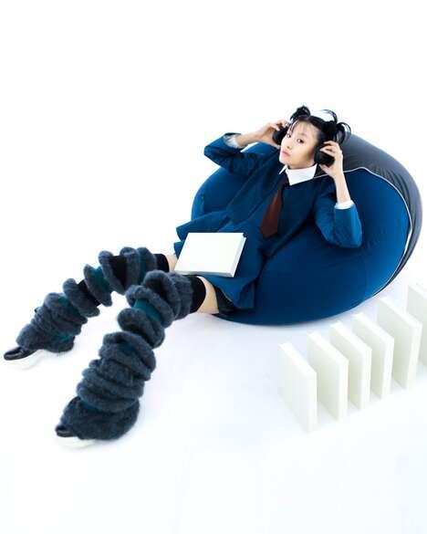 Wearable Beanbag Chair Fashion