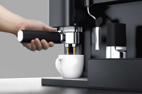 Streamlined One-Handed Coffee Makers