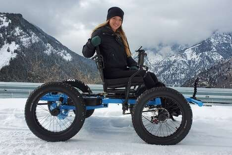 Rugged Outdoor Lifestyle Wheelchairs