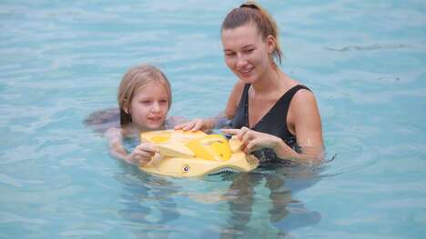Child-Friendly Swimming Boards