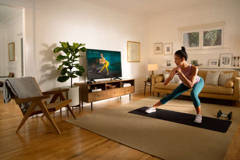 Fitness Brand Streaming Partnerships