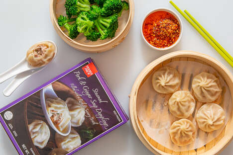 Pork Soup Dumplings - Trader Joe's Steamed Pork & Ginger Soup Dumplings are Filled with Flavor