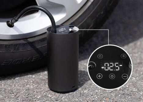 Handheld Smart Tire Inflators