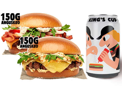 Non-Alcoholic Fast Food Beers