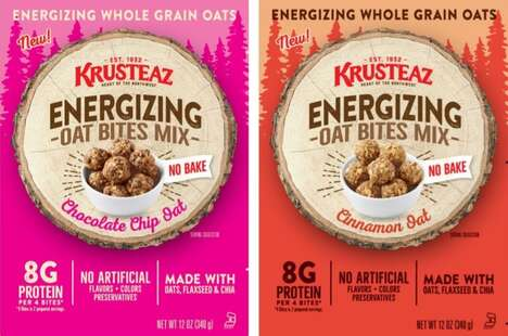 Energizing Oat Bite Mixes
