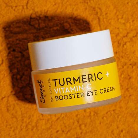 Turmeric-Infused Eye Creams