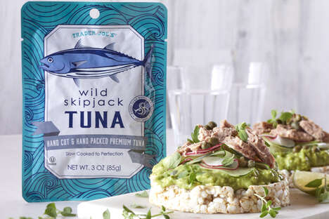 Sustainably Caught Skipjack Tuna - Trader Joe's Wild Skipjack Tuna is Sustainably Caught in Thailand