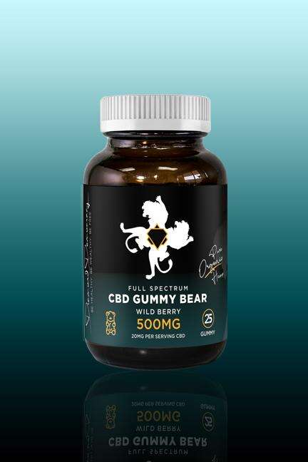 Full-Spectrum CBD Gummy Bears