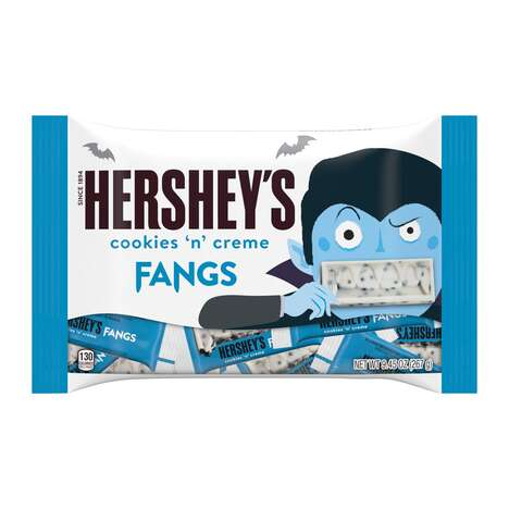 Playful Halloween Candy Bars