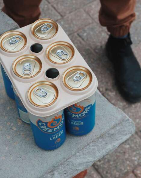 Eco-Friendly Beer Rings