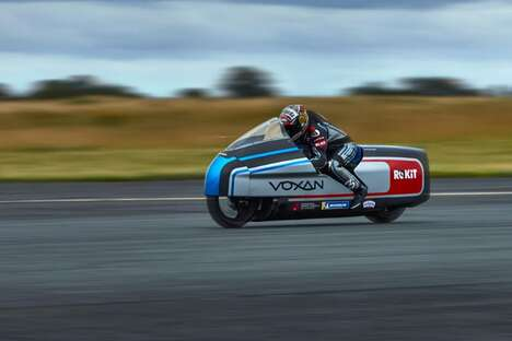 Record-Breaking Electric Motorcycles