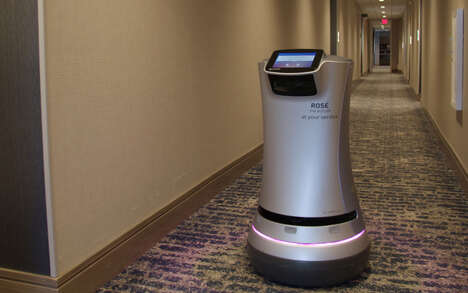 Wine-Delivering Hotel Robots