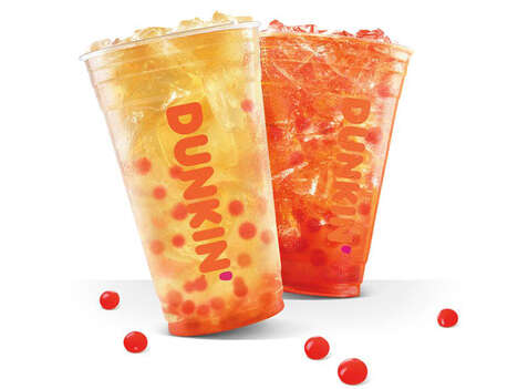 Bursting Bubble Iced Teas