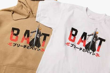 Anime-Inspired Graphic Apparel