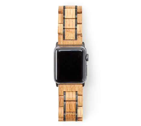 Wine Barrel Smartwatch Straps