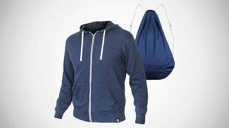 Convertible Backpack Sweatshirts