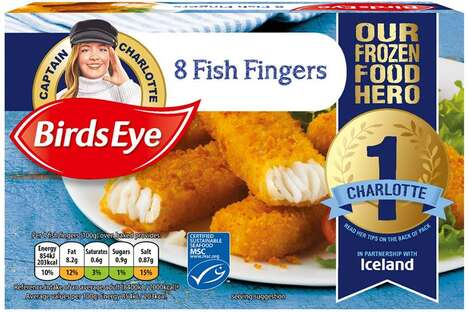 Customer-Featuring Seafood Packaging