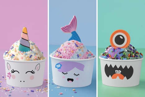 Customizable Fantasy Ice Creams