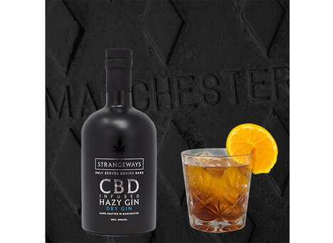 CBD-Infused Gin Spirits