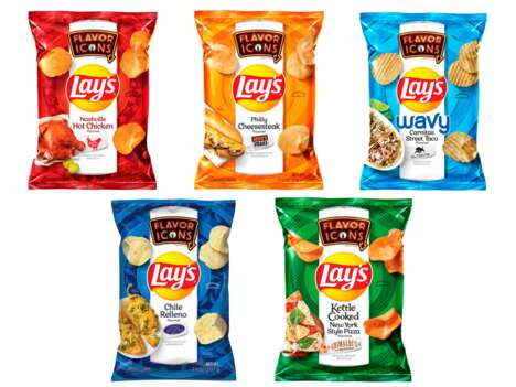 Meal-Inspired Potato Chips
