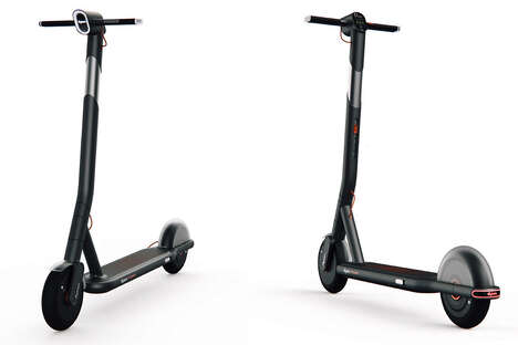 Elegant Tech Brand Scooters