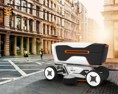 Autonomous Cityscape Sweeper Vehicles