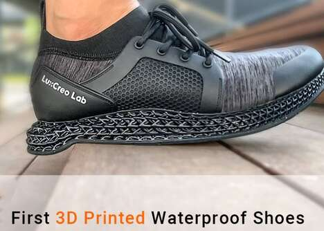 Waterproof 3D-Printed Shoes
