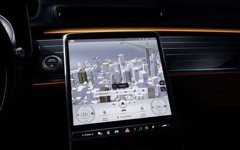 Novel In-Car Display Systems