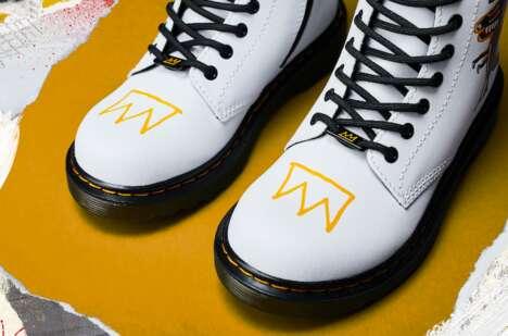 Postmodern Artist-Inspired Boots