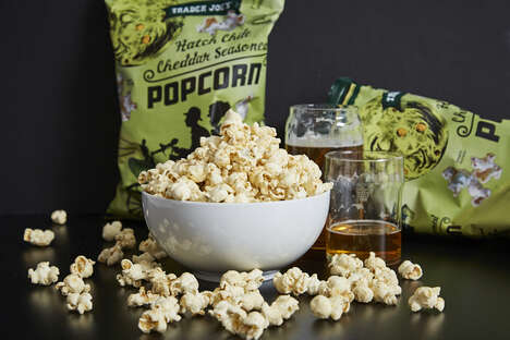 Hatch Chile-Seasoned Popcorn - Trader Joe's New Hatch Chile Cheddar Seasoned Popcorn is Packing Heat