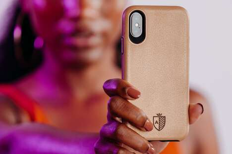 Copper-Coated Phone Cases