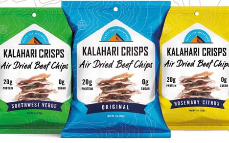Crispy Beef Snack Chips